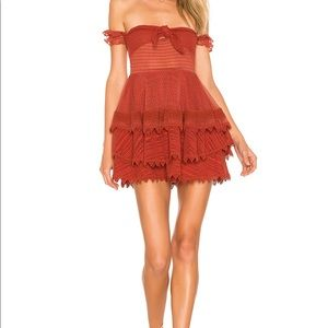 House of Harlow 1960 Gaines Dress in Red